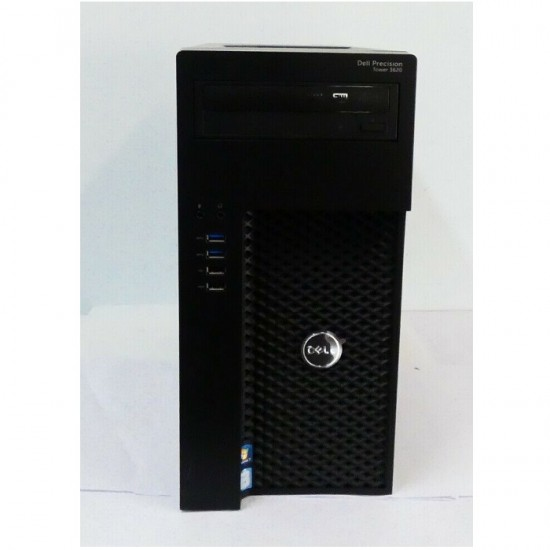 WORKSTATION DELL PRECISION T3620 PC TOWER INTEL XEON 3.5GHZ 32GB HDD 1TB WIN 10