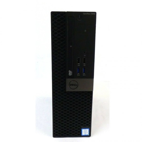 PC DELL OPTIPLEX 7040 DESKTOP SFF INTEL CORE I5 3.2GHZ RAM 8GB HDD500GB WIN 7- RICONDIZIONATO