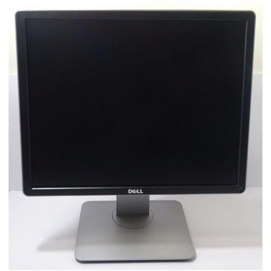 """MONITOR DELL PC 19"""" PROFESSIONAL P1914S 1280X1024 5:4 LED DVI VGA GRADO A- RICONDIZIONATO"""