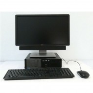 PC DELL OPTIPLEX 3020 SFF INTEL CORE I5 + MONITOR DELL P2014H + SOUNDBAR DELL+ MOUSE E TASTIERA DELL