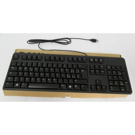 DELL TASTIERA KEYBOARD KB212-B USB 0C649N ITALIANA SLIM BLACK - NUOVO