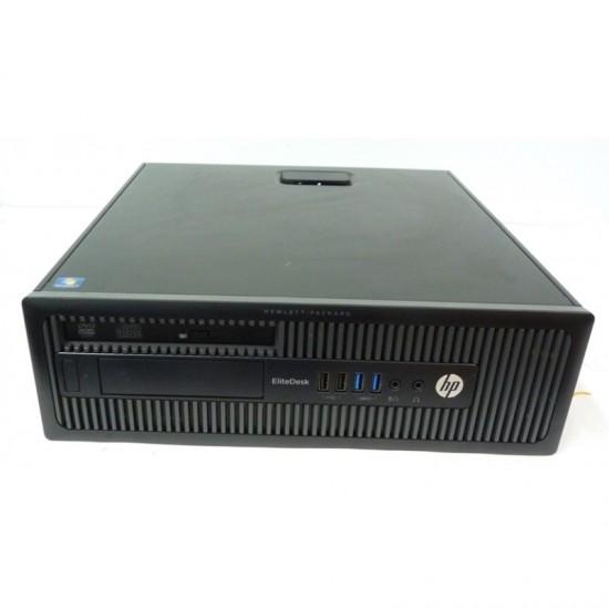 PC DESKTOP SFF HP ELITEDESK 800 G1 INTEL CORE I5-4570 3.3GHZ RAM 4GB HDD 500 GB WIN 7 PRO USATO