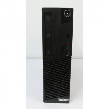 PC DESK LENOVO THINKCENTRE  INTEL M73E I3 3.4GHZ HDD 500GB RAM 8GB WIN 7 PRO - USATO
