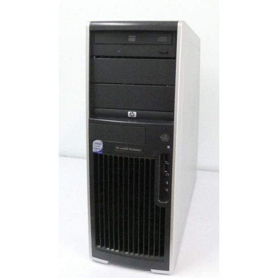HP XW4600 PC WORKSTATION INTEL Q6600 2.4GHZ QUAD CORE RAM 4GB HDD 160GB VISTA - usato